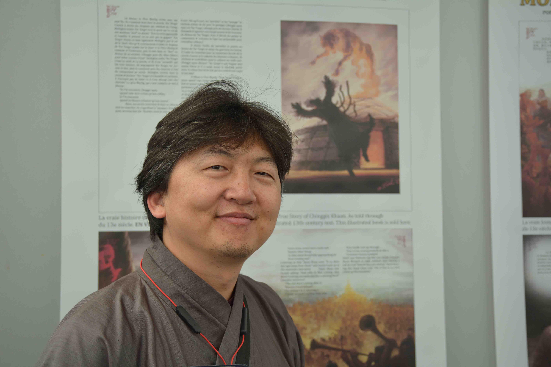 battsengel rentsen illustrateur livre mongol